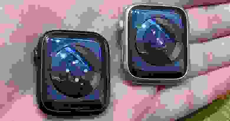 Слева — Series 6, справа — Series 5