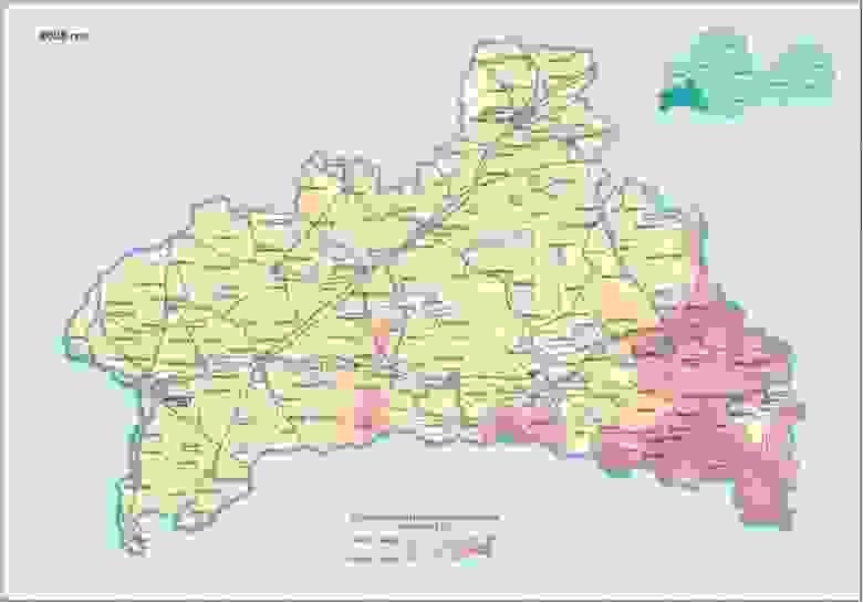 Цезий - Брестская область, 2026