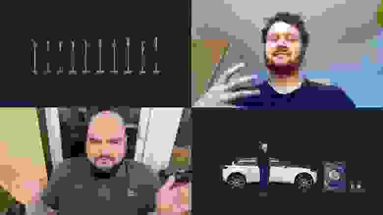 Крис Винсент—вправом верхнем углу. Джеймс Дайсон, электромобиль, стиральная машина и робот-пылесос— вправом нижнем