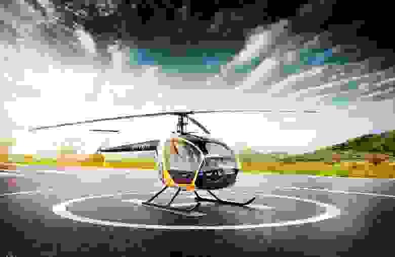 В 2015-м в Студии задизайнили вертолет «Скаут». Тогда это делала большая команда.