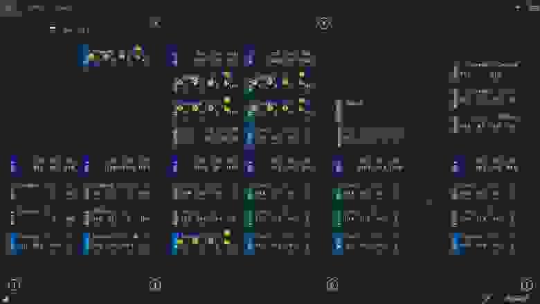 Главное окно системы диспетчеризации, логистический центр, МО