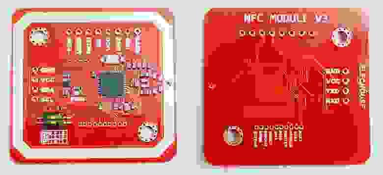 RFID/NFC модуль PN532. Китайцы скопировали версию от Elechouse.