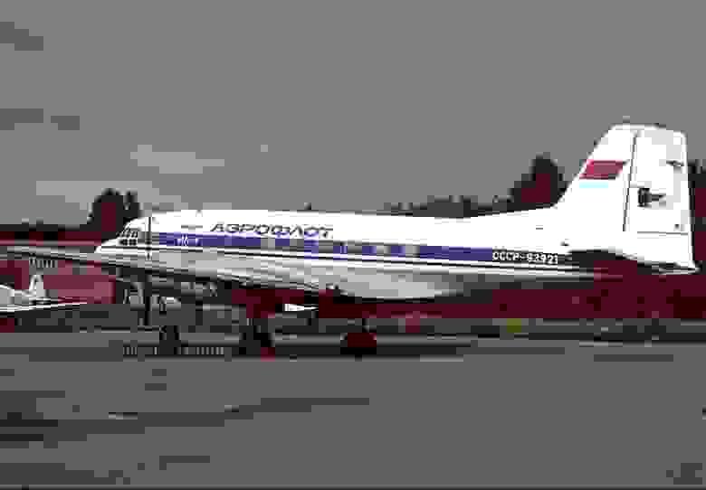 Ил-14 авиакомпании «Аэрофлот» Именно такой пытались угнать над Йыхви.