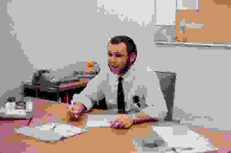 Так выглядели сотрудники ЦОД в 60-х годах
