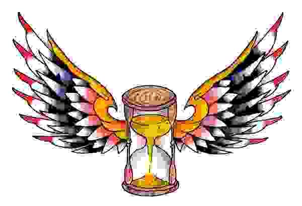 Winged Hourglass Image