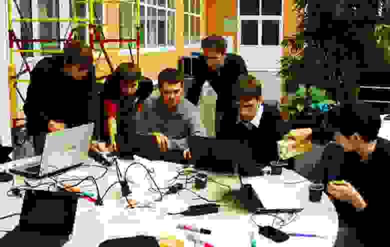 Hackday в технопарке новосибирского Академгородка. Фото Дарьи Шамовской