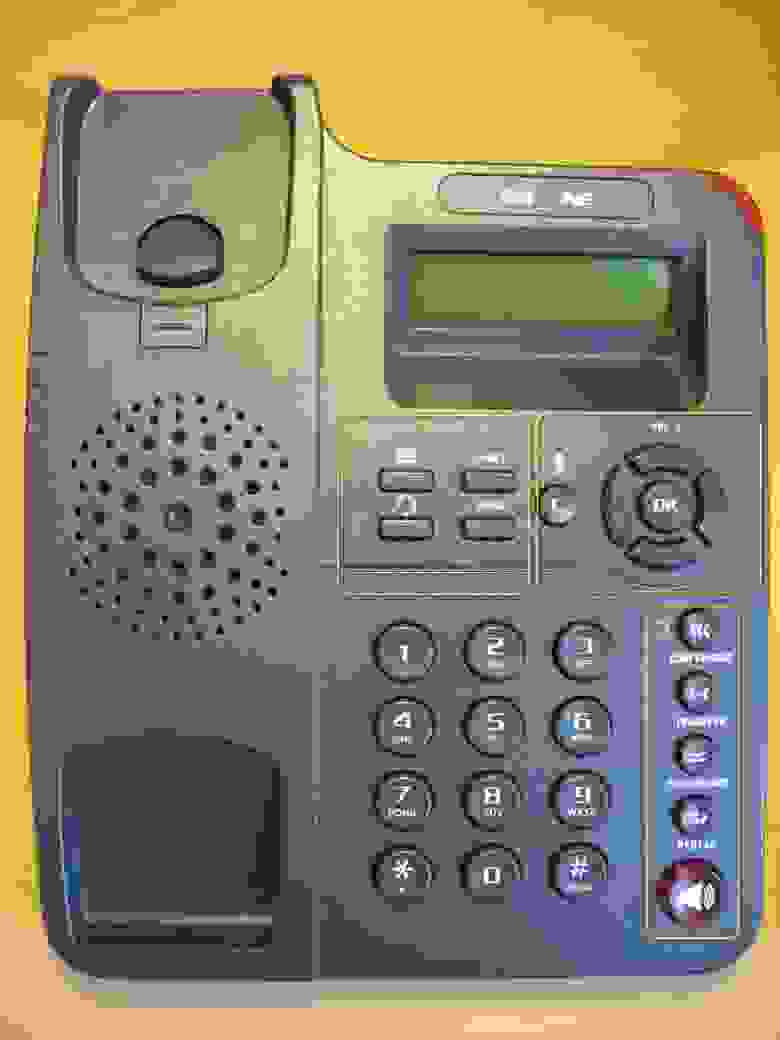 Фронтальная панель и аппаратные кнопки телефона Escene ES220