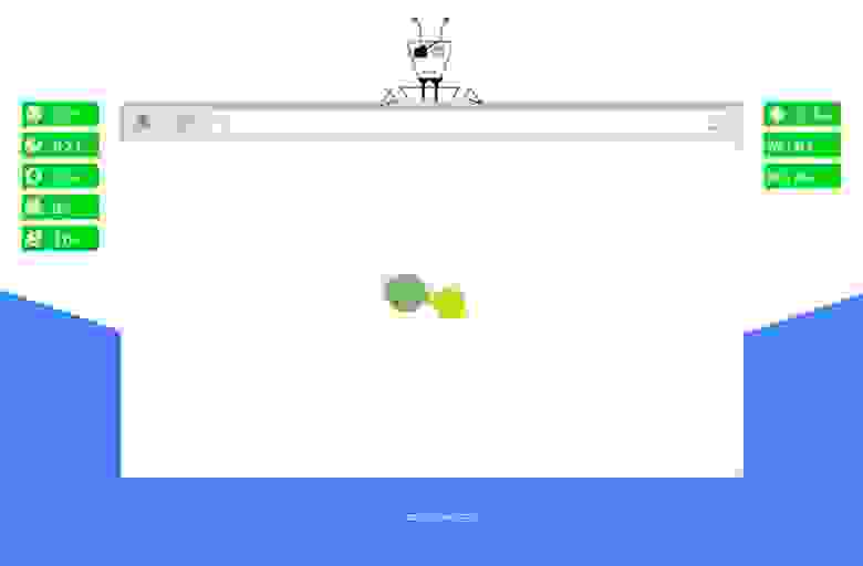 Preloader на css и svg - Color Dots Loader