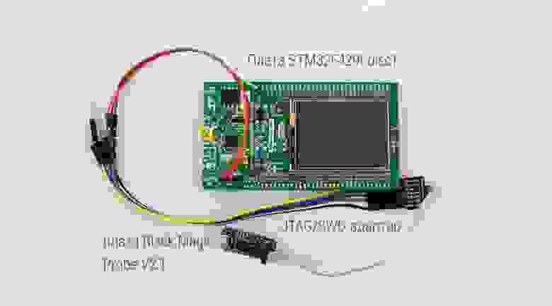 STM32F429I-disc1 и Black Magic Probe