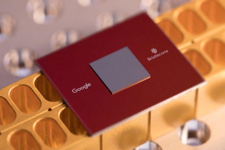 Квантовый процессор Google Bristlecone