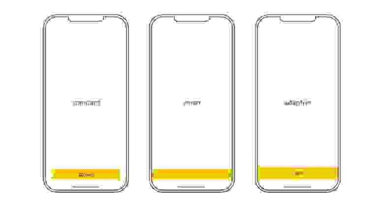Скрин №2: типы баннеров (стандартный, смарт-баннер, адаптивный)