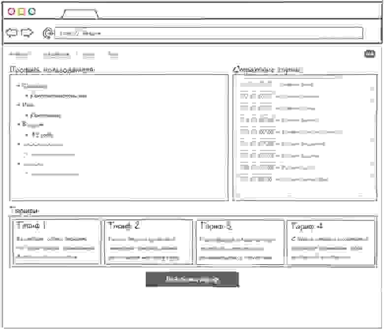 Прототип приложения