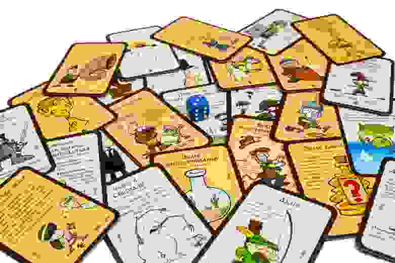 Манчкин - настольная карточная игра