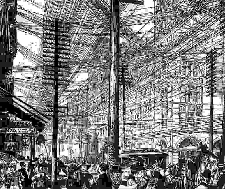 Нью-Йорк, 1890