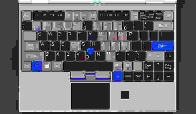 Adminbook A4 (keyboard)