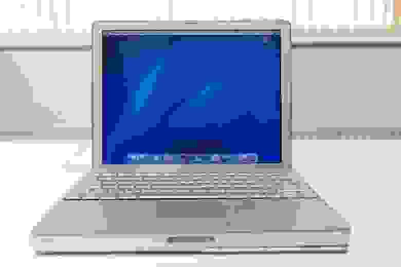 Apple PowerBook G4 — прекрасный пример ЖК-дисплея с активной матрицей