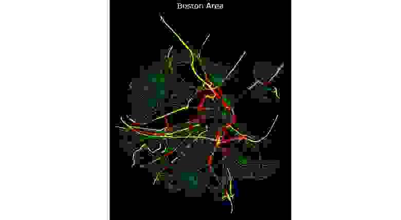 Road Usage Patterns analysis, Boston Area