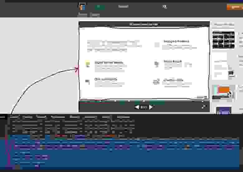 Презентация в SlideShare - это изображения