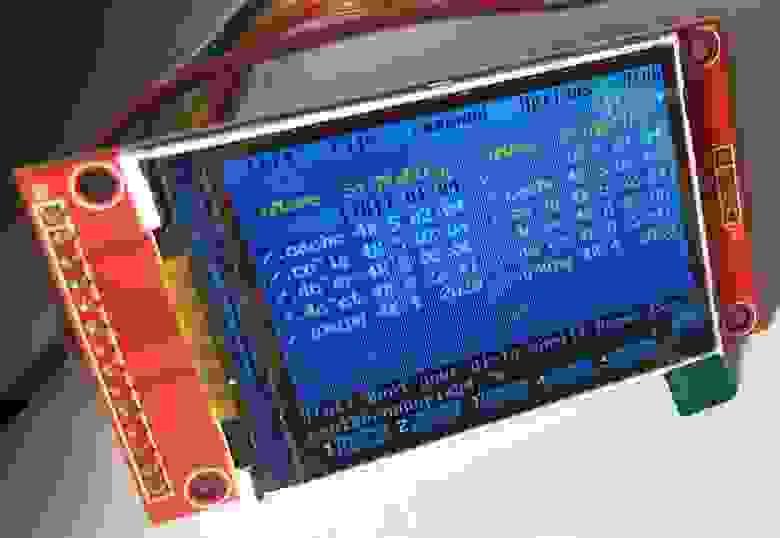LCD SPI ILI9341 Banana Pi BPI-M64