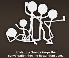 Posterous groups slogan