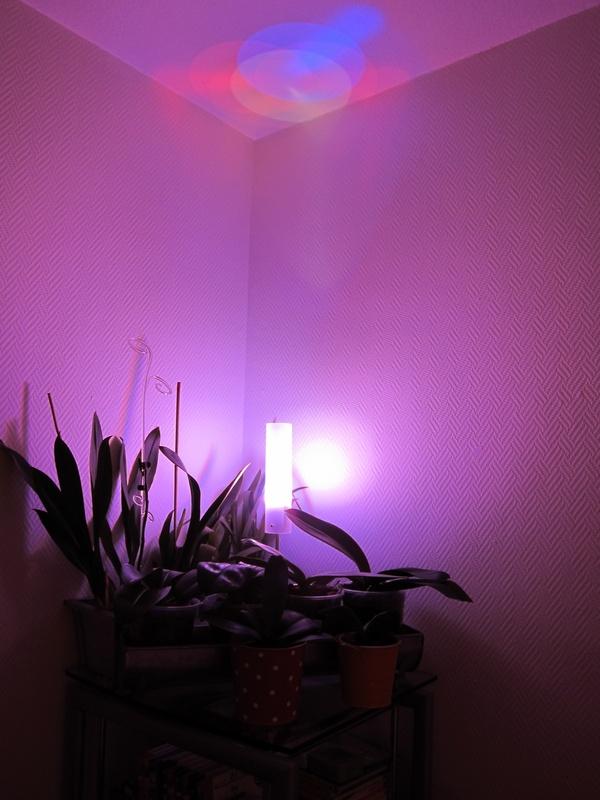 Цветная светодиодная лампа своими руками