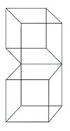 Аналогия сцепленности с контурными кубами