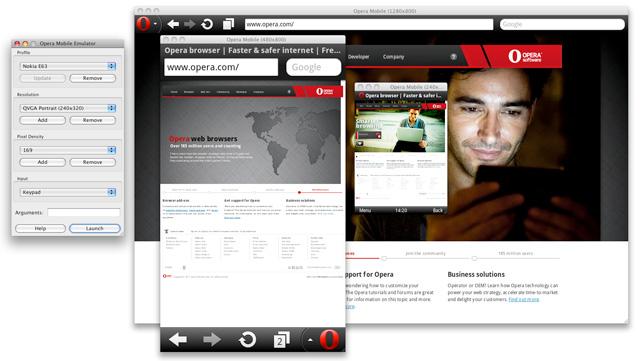 Opera Mobile Emulator