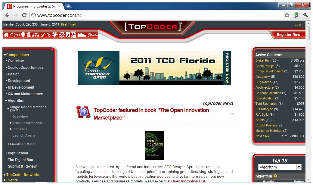 topcoder case study Access to case studies expires six months after purchase date publication date: january 15, 2010 topcoder's crowdsourcing-based business model, in which software is developed through online.