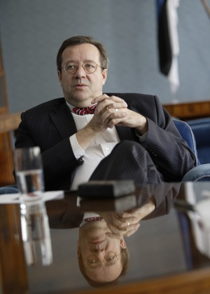 Президент Эстонии Тоомас Хендрик Ильвес (Toomas Hendrik Ilves)