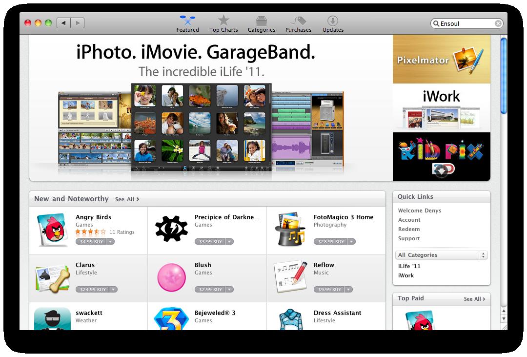 Mac App Store First Impressions Sudo Null It News