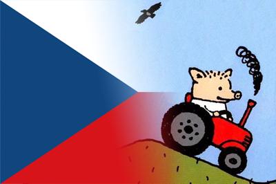 Поросёнок Пётр едет в Чехию на работу