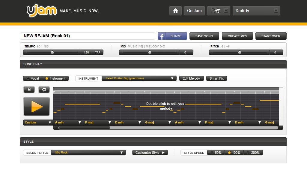изменить темп музыки онлайн бесплатно - фото 11