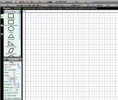 рисования схем электронных