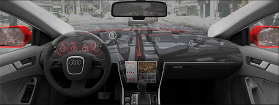 AIDA 2.0 Будущее трёхмерных интерфейсов