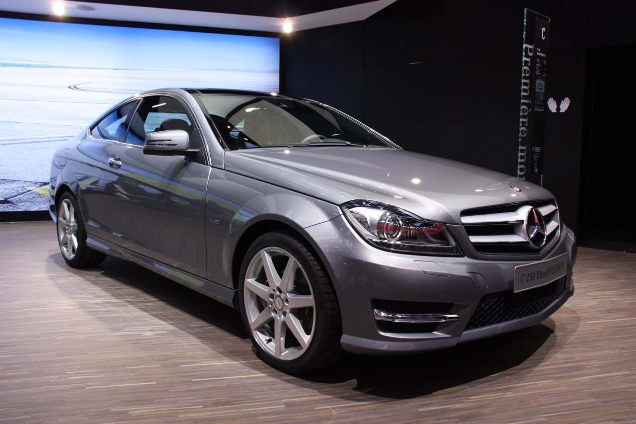 Премьера купе 2012 Mercedes-Benz C-Class — Автокадабра