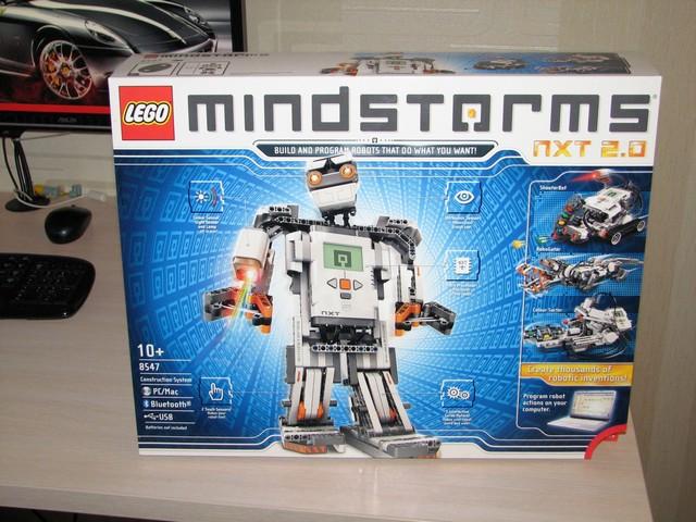 с Lego Mindstorms NXT 2.0.