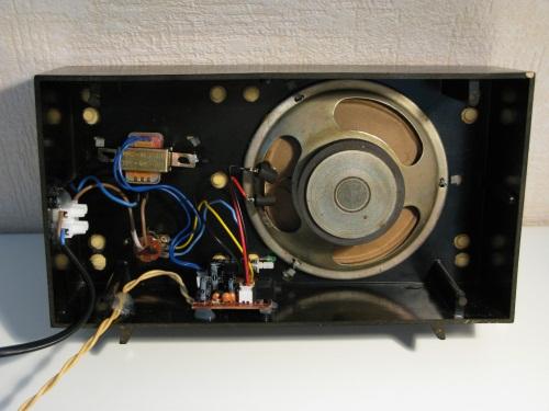 Loudspeaker inside