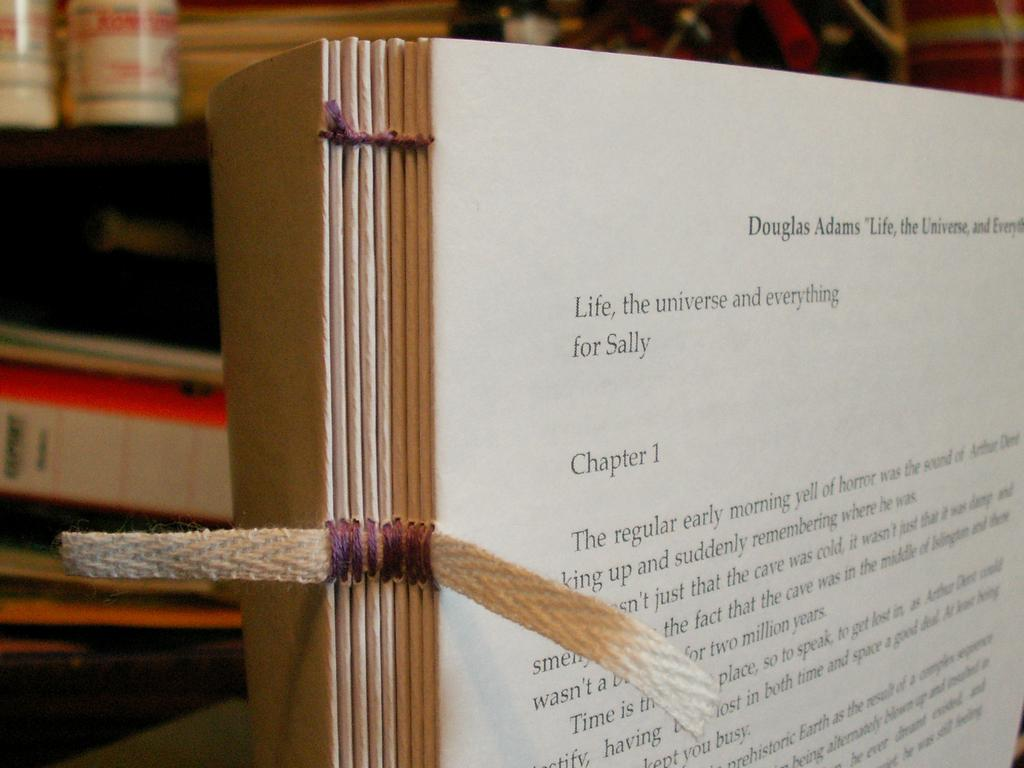 Как сделать переплет книге своими руками