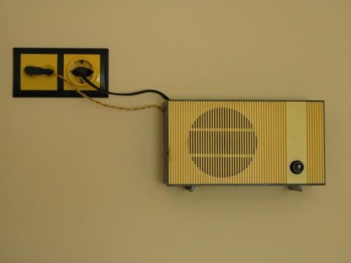 Loudspeaker on the wall
