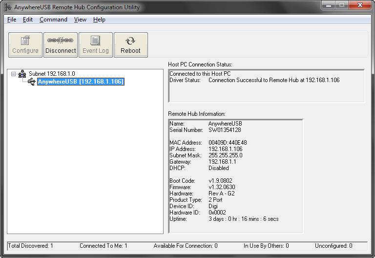 USB over IP или AnywhereUSB / Хабр