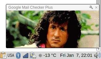 XSS в уведомлении Google Mail Checker Plus