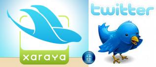Xaraya + Twitter