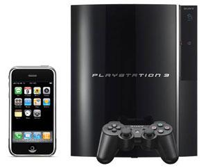 iPhone и PS3