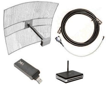 Комплект оборудования для подключения Yota за пределами покрытия