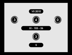 Настроечная таблица диафильма