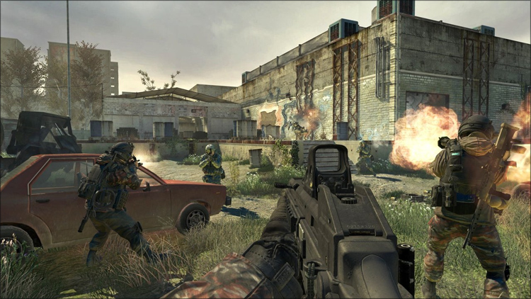 Call of Duty MW2 Rus 2010 / Русский Action.