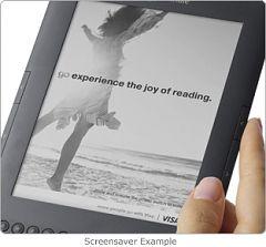 Amazon продает Kindle 3G с рекламой по $139