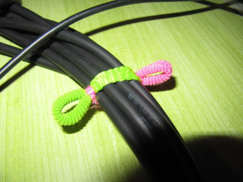 Еще один способ держать провода в порядке