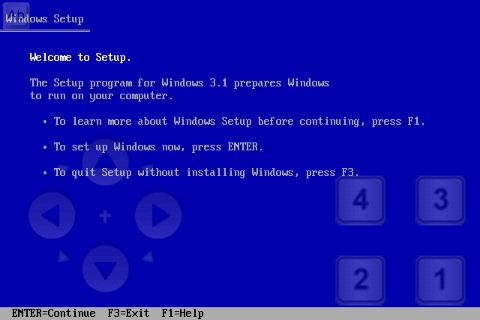 Запуск ОС Windows 3.1 на Андроид