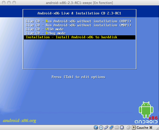 Download Android-x86 older versions. - FOSSHUB